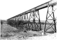 ACR Mintlaw trestle completed 1912