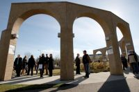 The Arches dedication - photo Advocate
