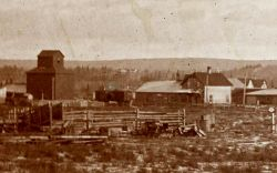 Red Deer combination station 1898