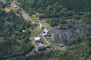 Nordegg Mine Site Aerial Advocate photo