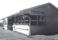CN Trochu station replacement 1959