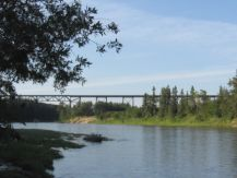 river view of ACR trestle