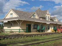 Canadian Northern Stettler station