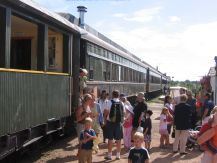 rail excursions between Stettler and Big Valley