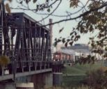 CPR bridge downtown Red Deer 1987